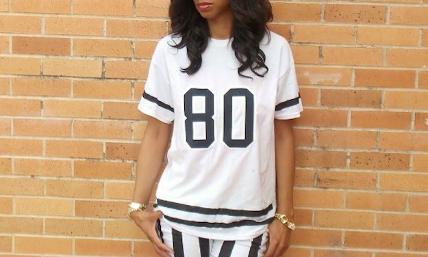 Varsity Tee | DIY Clothes | Tops, Tees, And Blouses Edition